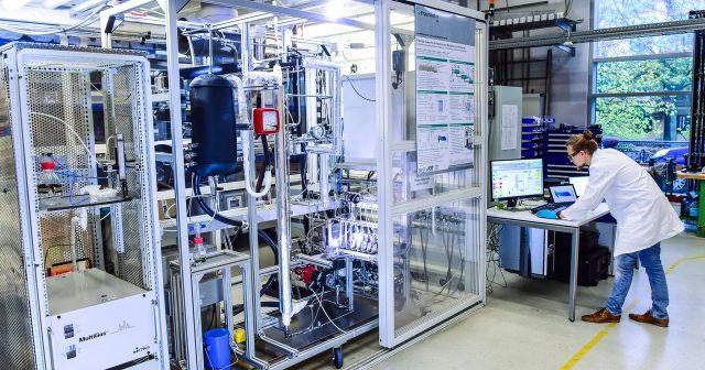 Methanolsynthese am Fraunhofer ISE